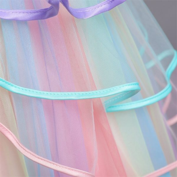 Déguisement enfant licorne robe de princesse Déguisement Animaux Déguisement Licorne