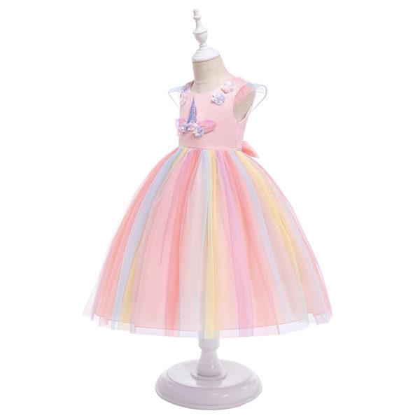 Déguisement pour filles licorne robe rose Déguisement Animaux Déguisement Licorne