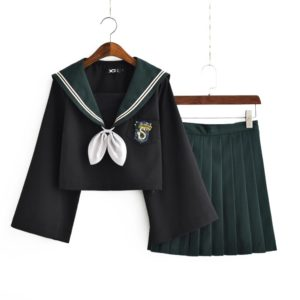 Costume cosplay Serpentard fille vert Déguisement Film Déguisement Harry Potter
