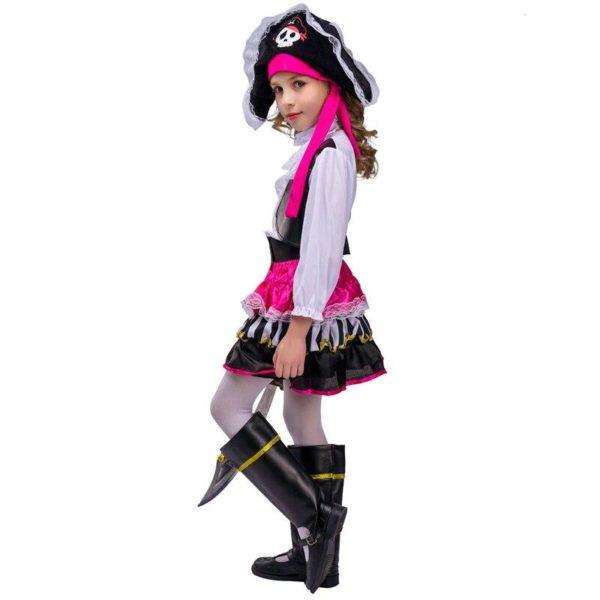 Costume de cosplay pour carnaval filles Déguisement Historique Déguisement Pirate