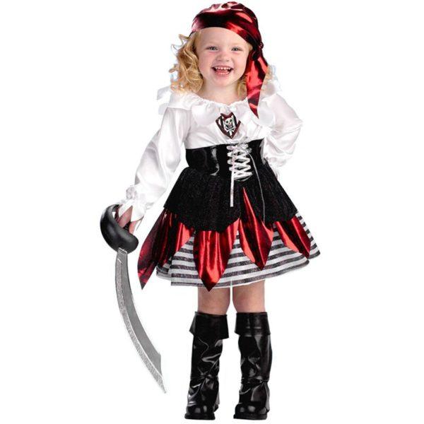 Costume de pirate enfants pour fête Déguisement Halloween Déguisement Historique Déguisement Pirate