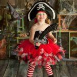 Costume de pirate moelleux pour petite fille Déguisement Historique Déguisement Pirate