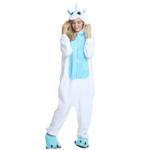 Déguisement adulte combinaison licorne blanche et bleu Déguisement Animaux Déguisement Licorne