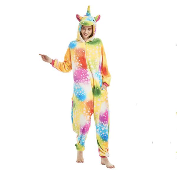Déguisement adulte combinaison licorne multicolore Déguisement Animaux Déguisement Licorne