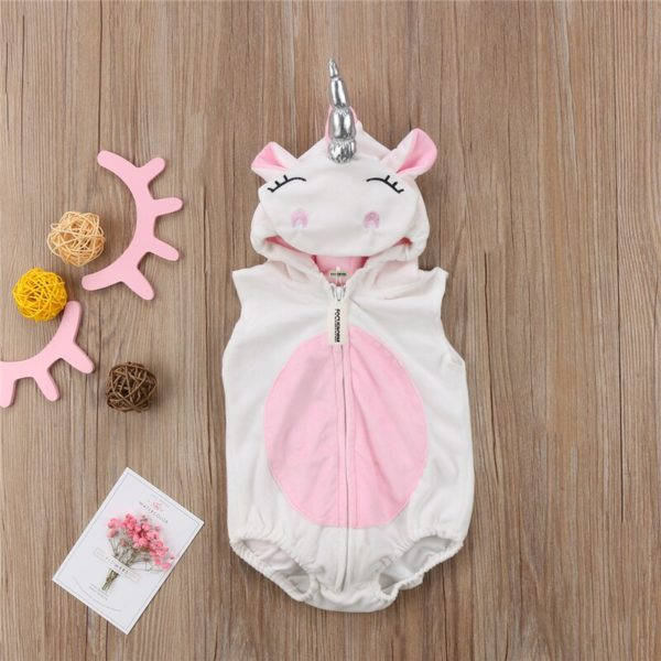 Déguisement bébé licorne barboteuse sans manches Déguisement Animaux Déguisement Licorne