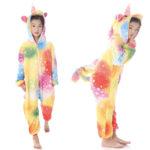 Déguisement enfant combinaison licorne multicolore Déguisement Animaux Déguisement Licorne