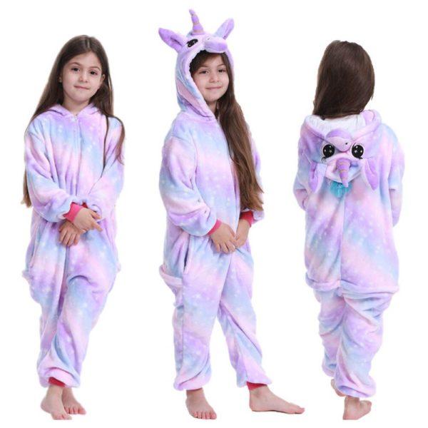 Déguisement enfant combinaison licorne rose Déguisement Animaux Déguisement Licorne