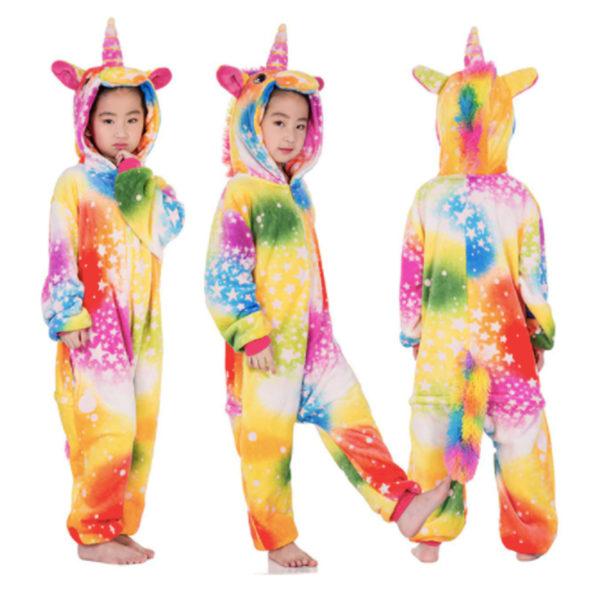 Déguisement enfant combinaison licorne rose et bleu Déguisement Animaux Déguisement Licorne