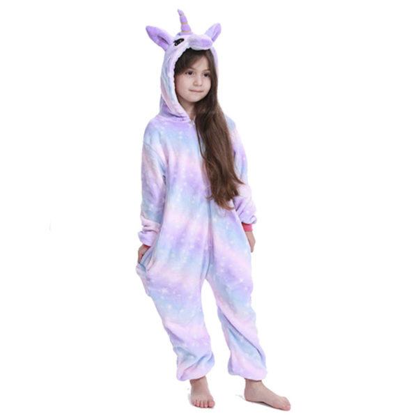 Déguisement enfant combinaison licorne violette Déguisement Animaux Déguisement Licorne