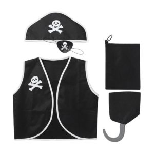 Kit de déguisement cosplay pirate pour enfants Déguisement Halloween Déguisement Historique Déguisement Pirate