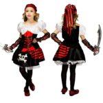Tenue de pirate pour filles Déguisement Historique Déguisement Pirate