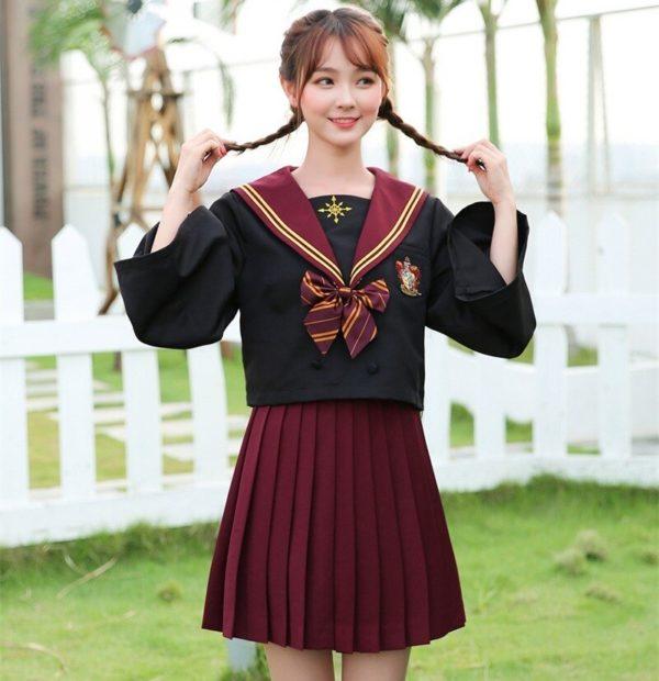 Uniforme Serpentard pour filles et femmes Déguisement Film Déguisement Harry Potter
