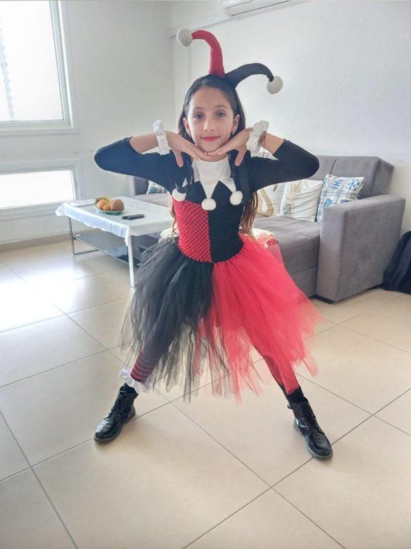 Costume Harley Quinn Arlequin pour enfant Déguisement Film