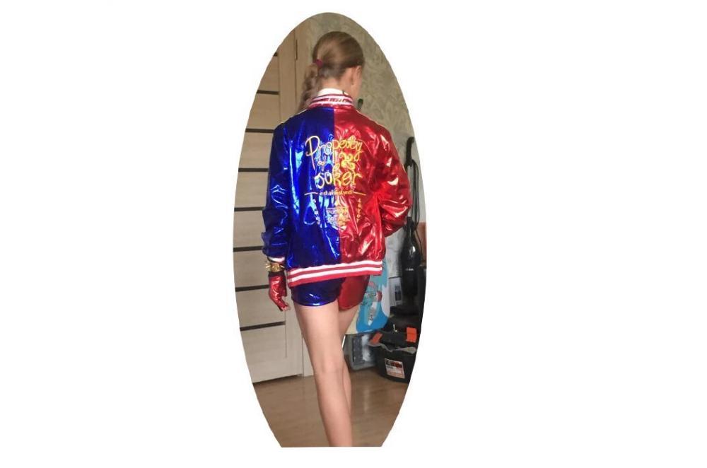 Veste de costume Harley Quinn Déguisement Harley Quinn Déguisement Film