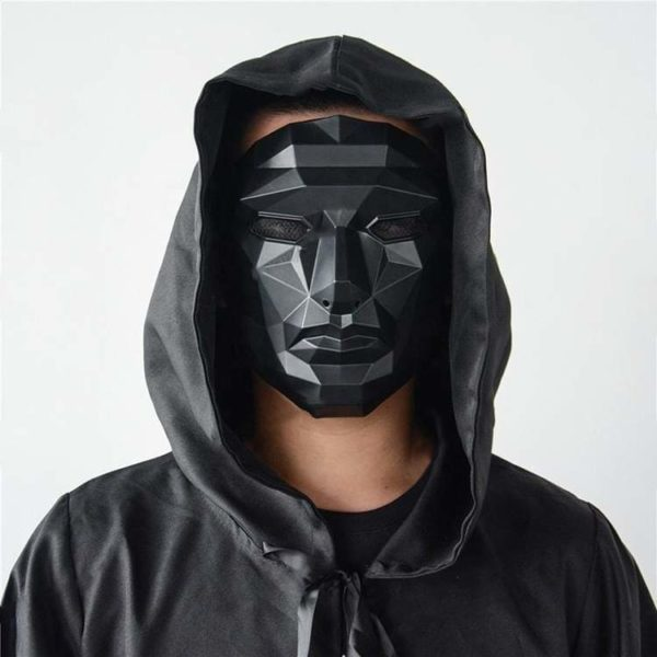 Masque de déguisement Squid Game Déguisement Film Déguisement Squid Game