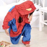 Déguisement Spiderman tout doux Déguisement Marvel Déguisement Spiderman